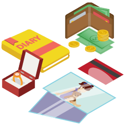 Miscellaneous personal items icon