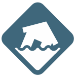 House Flood Icon