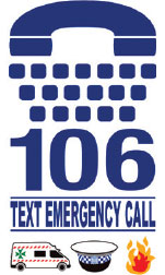 Emergency Text 106